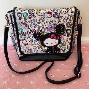 Rare Tokidoki for Hello Kitty crossbody purse bag